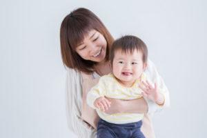 主婦と赤ちゃん