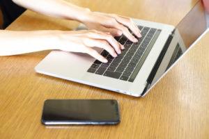 ブログをパソコンで