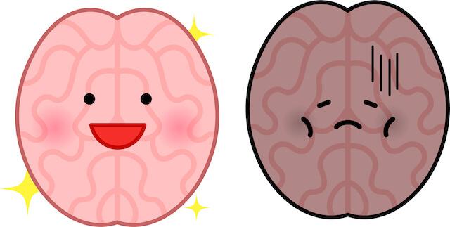 脳の働きが悪くなり老化する7つの悪習慣と改善策で集中力や意欲アップ